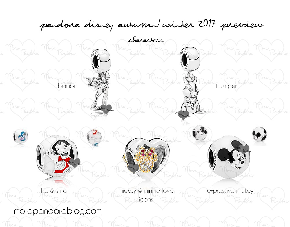 Pandora Disney Autumn 2017 Characters The Kingdom Insider