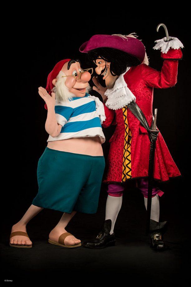 Captain Hook Mr Smee Peter Pan Photopass