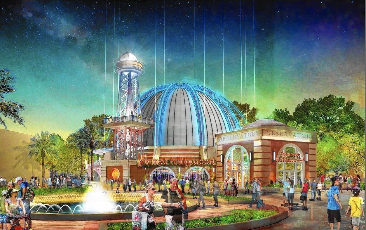 Planet Hollywood Observatory   Disney Springs   Walt Disney World