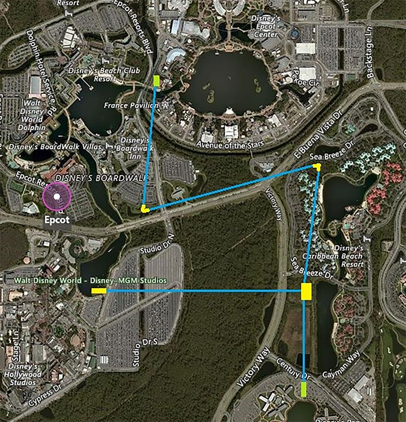 Walt Disney World Proposed Gondola System