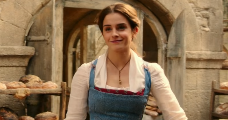 Emma Watson as Belle in the live-action Beauty and the Beast from Walt Disney Pictures