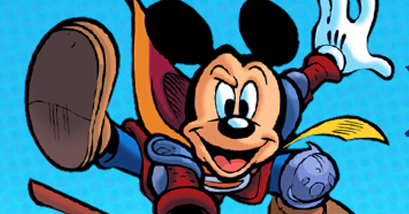Disney Comics | Wizards of Mickey