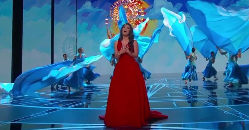 Moana | How Far I'll Go sung by Auli'i Cravalho