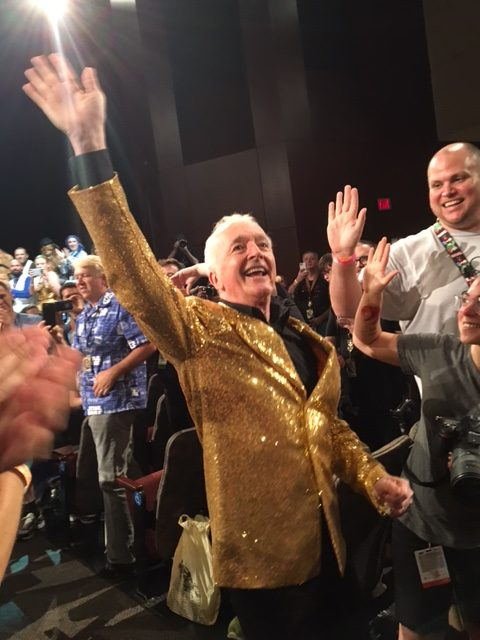 I want to know who Anthony Daniels' tailor is. Love the jacket.