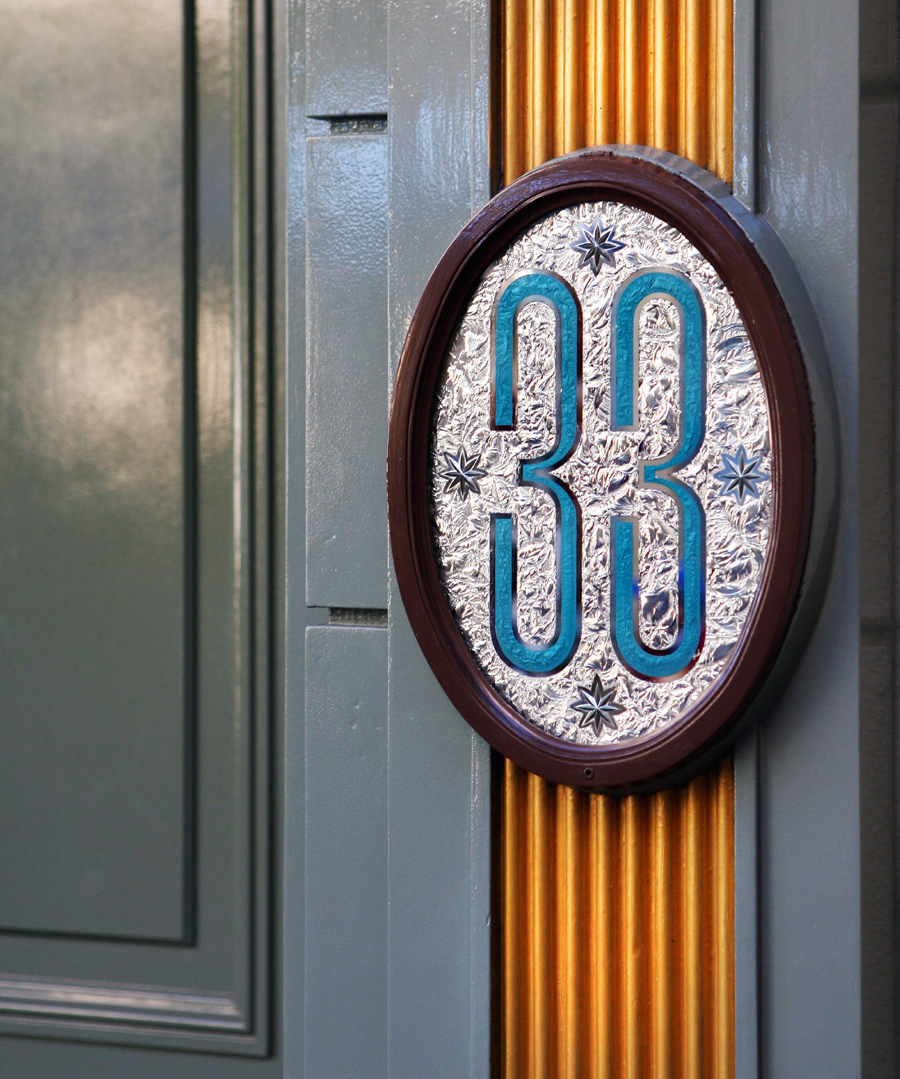 Club 33 in Disneyland