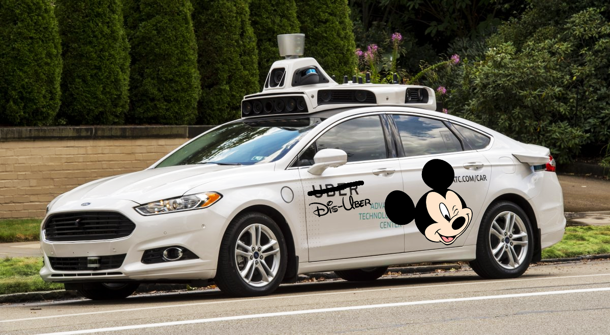 Disney Uber Service coming to Walt Disney World in Orlando Florida