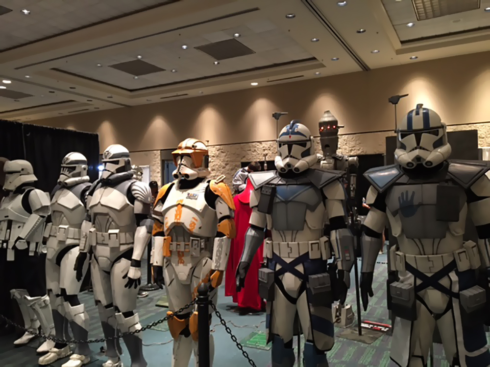 Star Wars Clonetroopers | Star Wars Celebration 2017 in Orlando, Florida