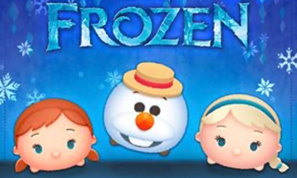 September 2017 Frozen Event on Disney Tsum Tsum App