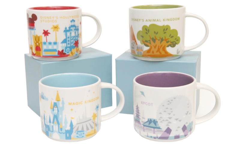 New Mugs And Cups For Disney Starbucks Locations The