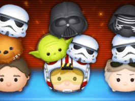 May 2018 Tsum Tsum Event Star Wars Puzzle