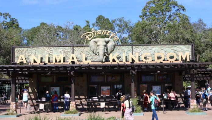 Disney's Animal Kingdom - Sign at Main Gate