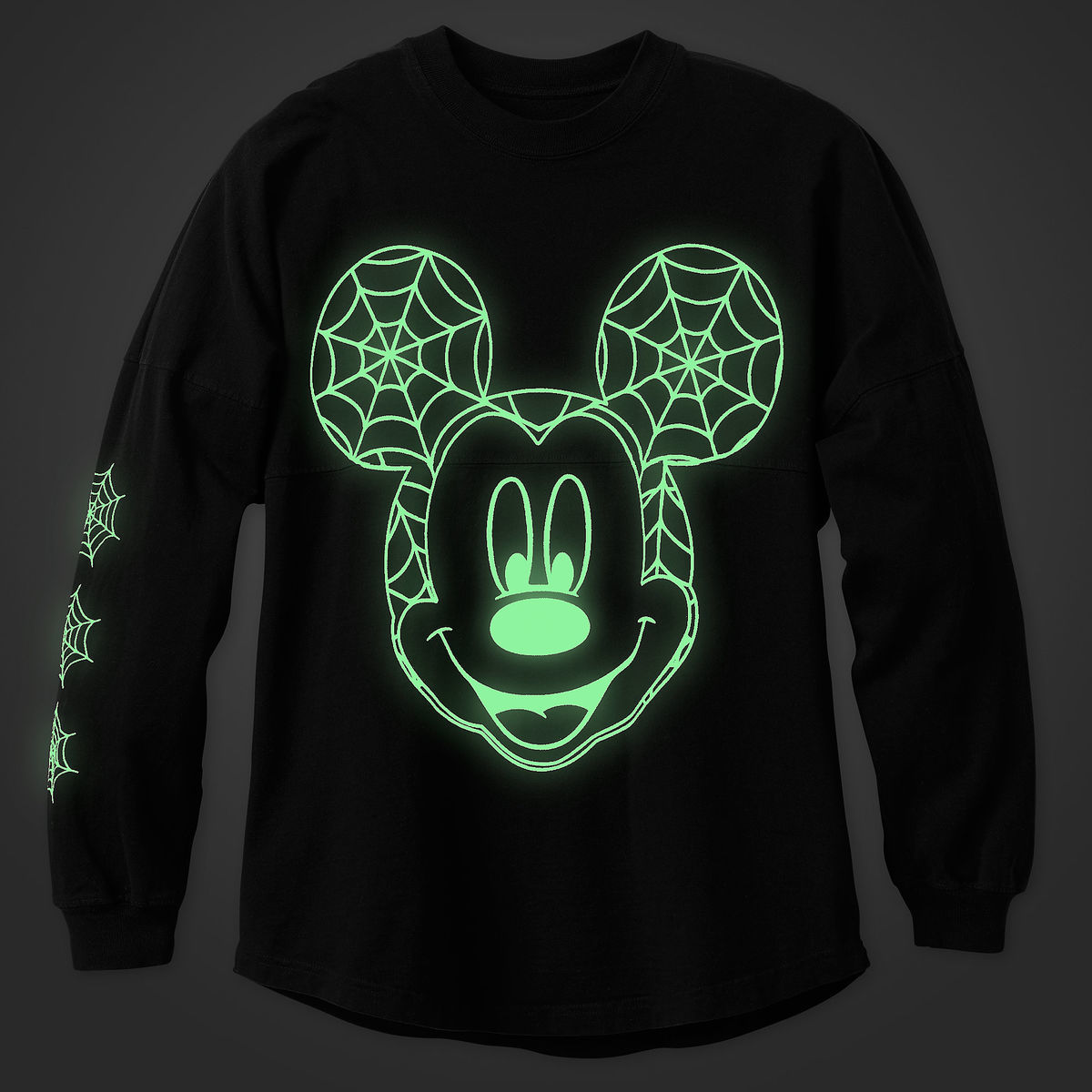 bbd8f4a00 mickey-mouse-halloween-spirit-jersey-glow-in-the-dark-front | The ...