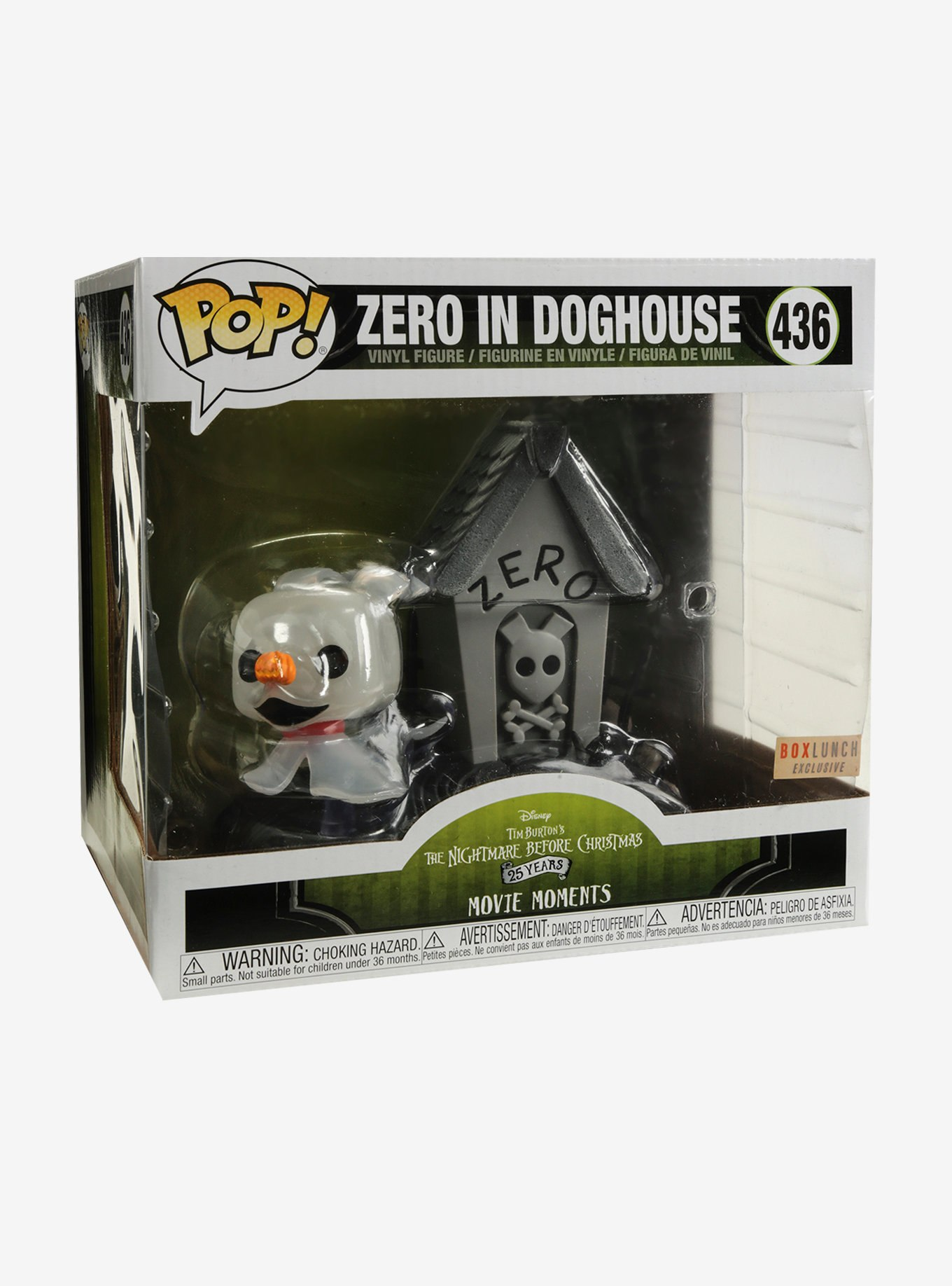 nightmare-before-christmas-zero-pop-vinyl-movie-moments | The ...