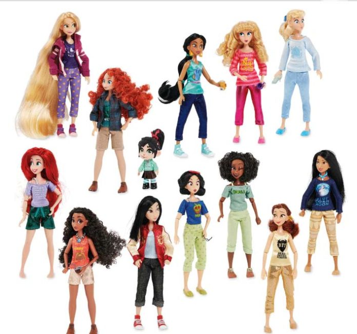 e494bf6bbe9 New Shop Disney Set Features Vanellope and 12 Princesses From  Ralph ...