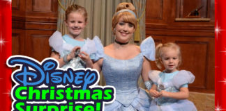 How to give a surprise Disney World vacation for Christmas