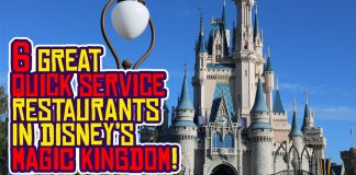 Best Quick Service Dining Options in Disney's Magic Kingdom in Walt Disney World