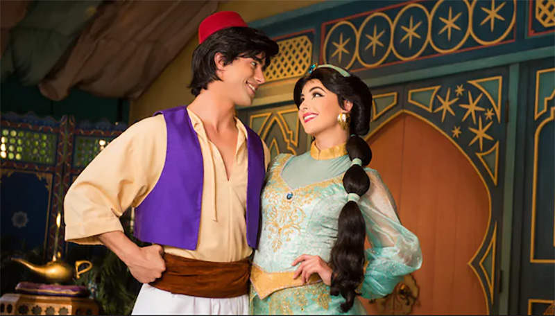 Special Princess And Prince Meet And Greets In Epcot For