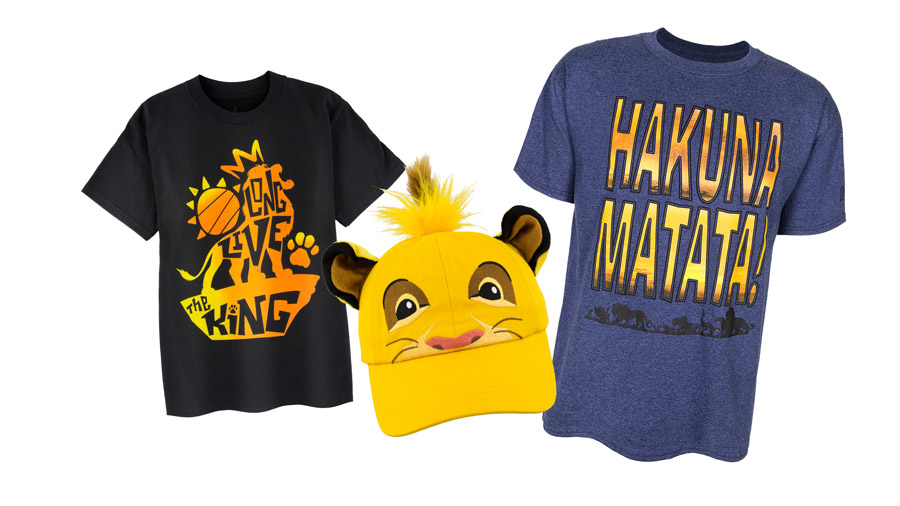 The Lion King-themed Merchandise from Disney's Animal Kingdom Theme Park
