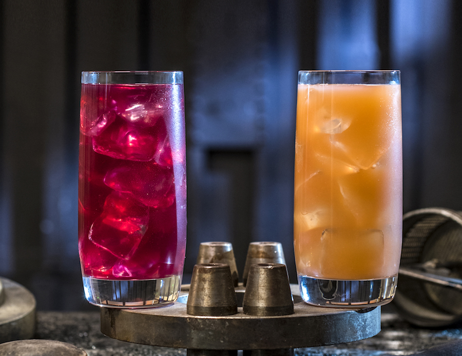 Phattro and Moof Juice from Docking Bay 7 Food and Cargo at Star Wars: Galaxy's Edge