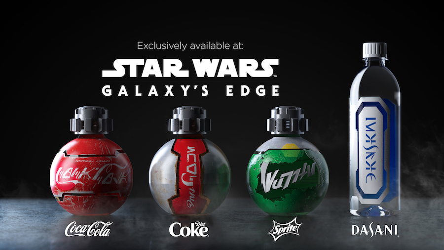 Specialty Bottled Beverages at Star Wars: Galaxy's Edge