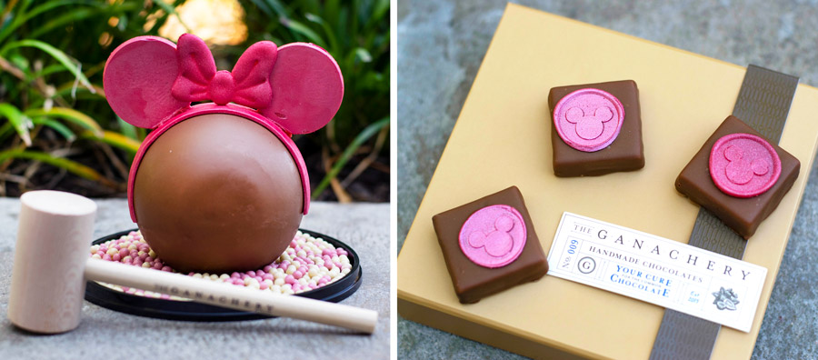 Imagination Pink Offerings from The Ganachery at Disney Springs