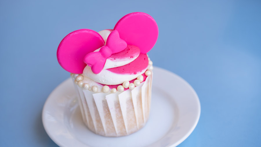 Imagination Pink Cupcake from Market House at Disneyland Park