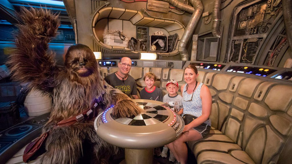 1 Millionth Rider on Millennium Falcon: Smugglers Run