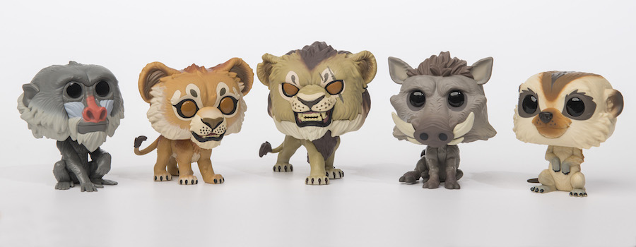 'The Lion King' Funko Pop collection