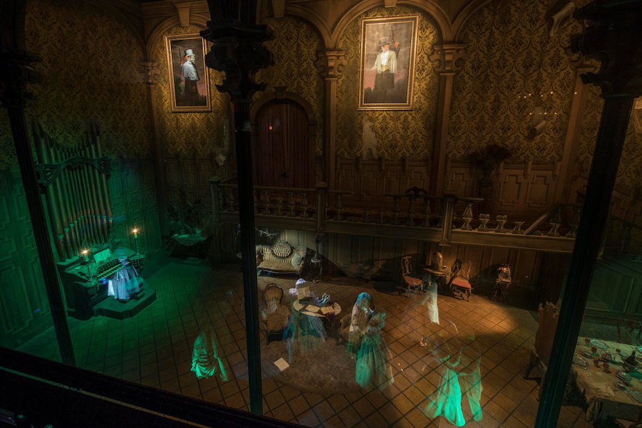 Haunted Mansion at Disneyland Park – Ballroom