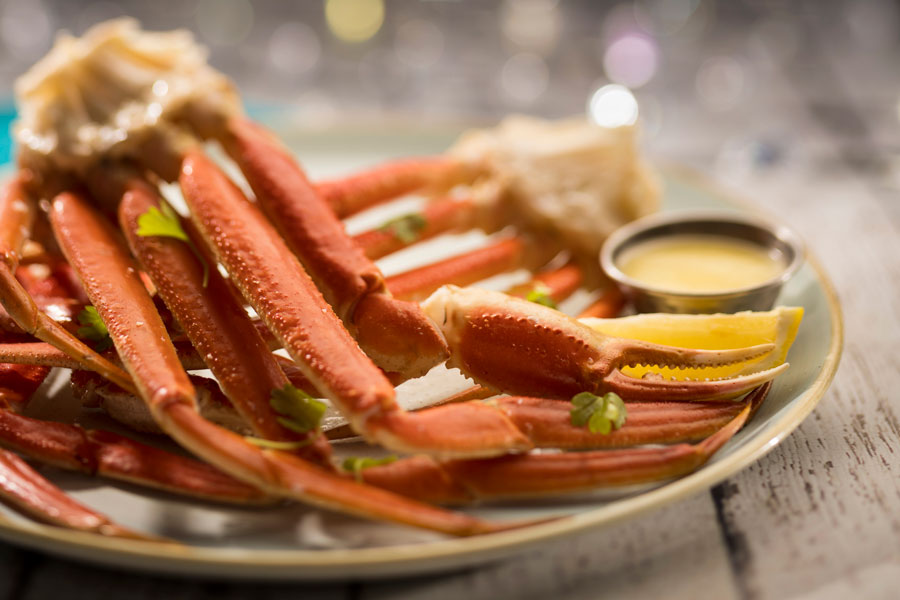 Crab Legs from Coral Reef Restaurant at Epcot