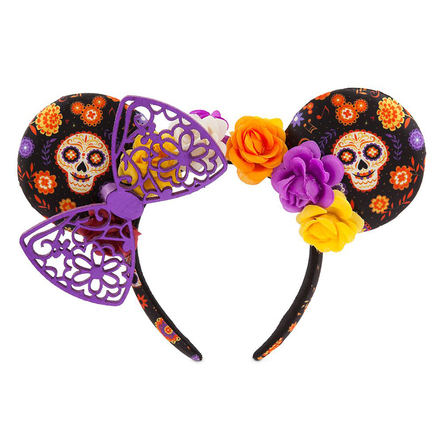 Dias de los Muertos Minnie Mouse Ear Headband