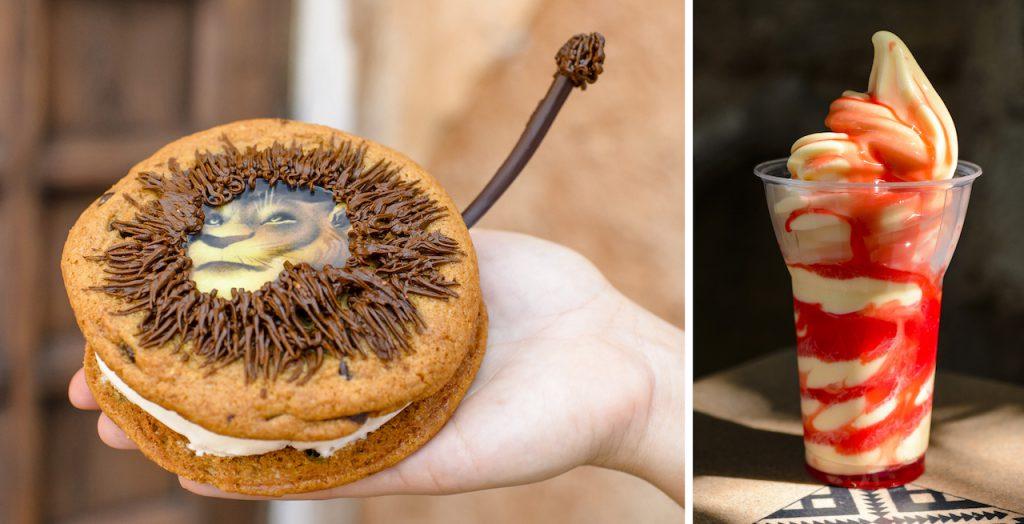 Offerings for the Winter 2019 Disney's Animal Kingdom Tasting Sampler