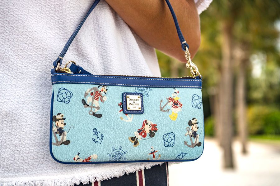 Dooney & Bourke Introduces New Nautical Collection Exclusively for Disney Cruise Line - Wallet