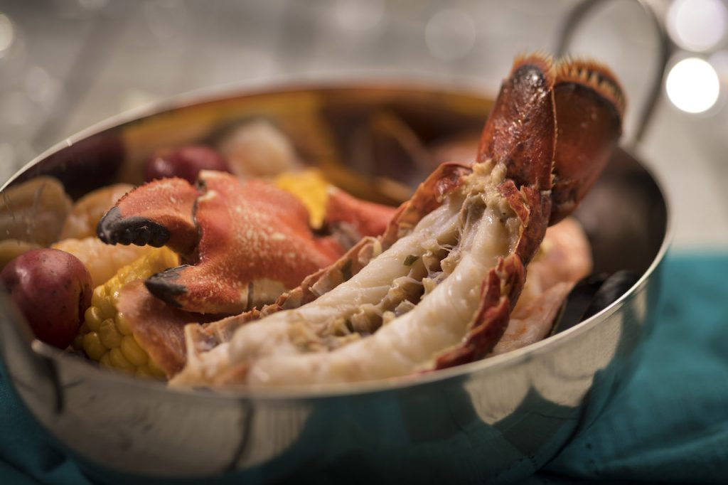 Chef Louis' Lobster Seafood Boil from Coral Reef Restaurant at Epcot