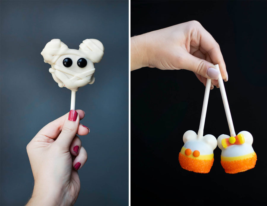 Halloween and Fall-themed treats from Disney's Candy Cauldron and Goofy's Candy Co.