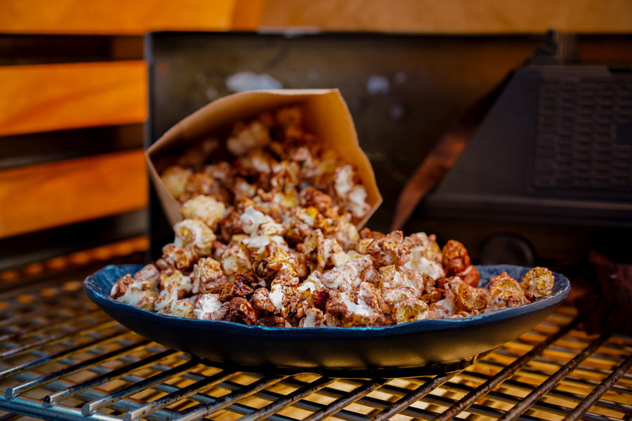 Chocolate Popcorn from Kat Saka's Kettle at Disneyland Park