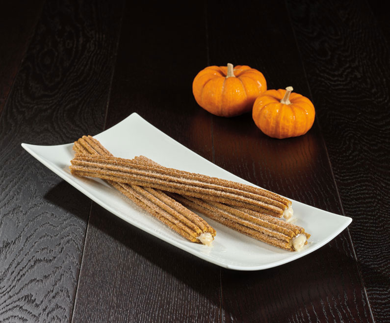 Pumpkin spice churros from Sunshine Churros