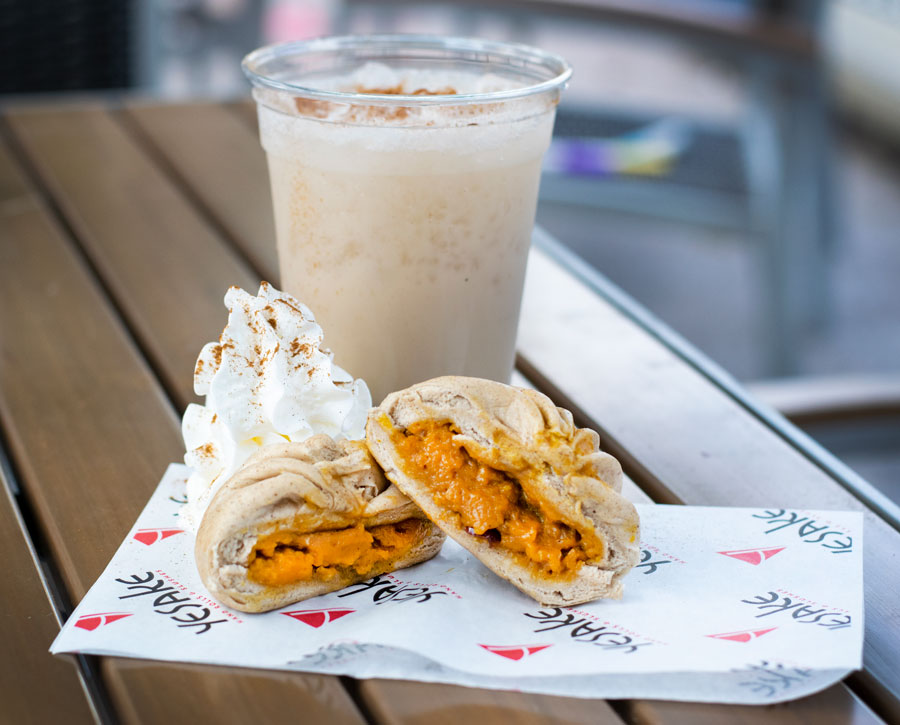 Kabocha Pumpkin Bun and Spiced Kabocha