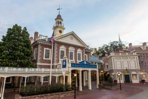 Liberty Square in Magic Kingdom has options for healthy eating in Disney World!