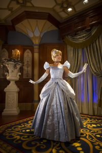 Cinderella's Royal Table has options for healthy eating in Disney World at Magic Kingdom.