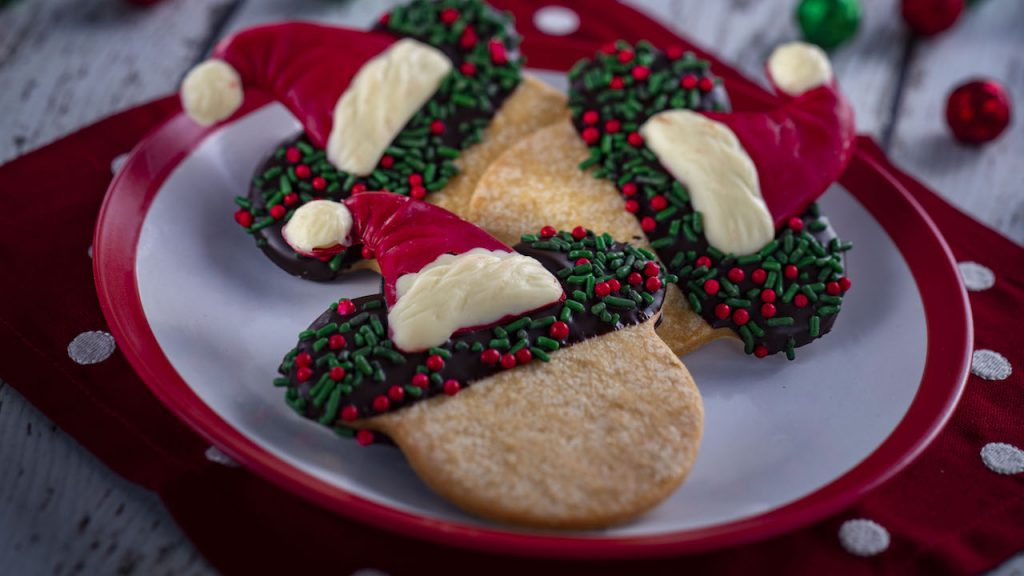 Santa Mickey Sugar Cookie from the Holiday Sweets & Treats Holiday Kitchen for the 2019 Epcot International Festival of the Holidays