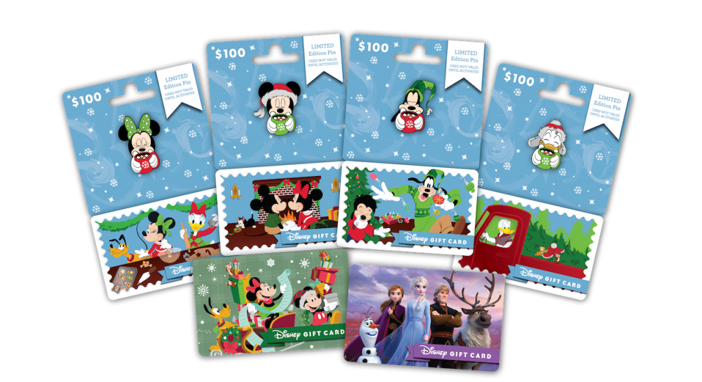holiday Disney Gift Cards