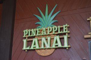 Find Dole Whip at Pineapple Lanai at Disney's Polynesian Resort in Walt Disney World.