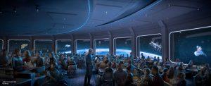 New Restaurants in Disney World - Space 220 rendering in Epcot.