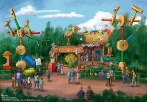New Restaurants in Disney World - Rendering of RoudUp Rodeo BBQ in Toy Story Land, Hollywood Studios