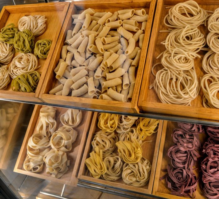 Plenty of pasta and carbohydrates to eat the night before your Run Disney race!