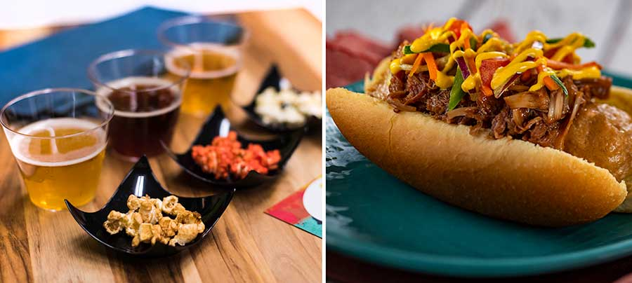 Offerings from Refreshment Outpost for the 2020 Epcot International Festival of the Arts