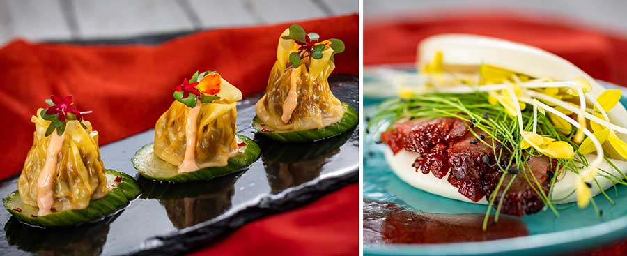 Offerings from The Painted Panda for the 2020 Epcot International Festival of the Arts