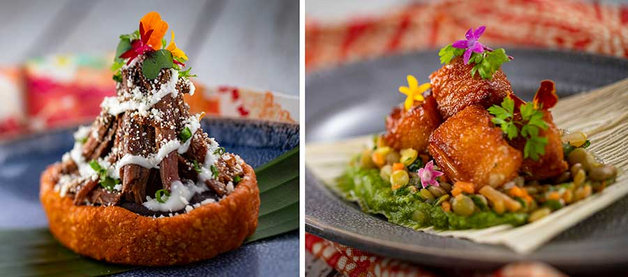 Offerings from El Artista Hambriento for the 2020 Epcot International Festival of the Arts