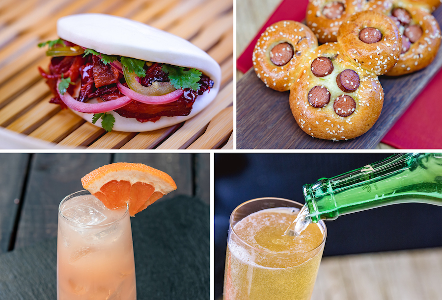 Offerings from Prosperity Bao & Buns for Lunar New Year 2020 at Disney California Adventure Park
